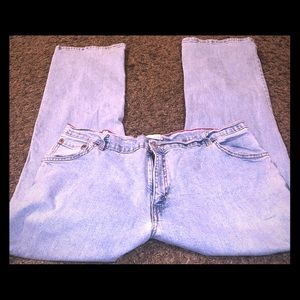 Levi's 550 Relaxed Boot Cut size 18 M
